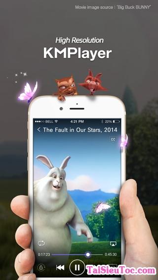 Giới thiệu KMPlayer cho iPhone - Nghe nhạc, xem phim