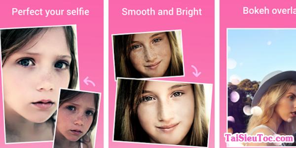 Hình 3 Hướng dẫn tải ứng dụng Beauty Camera cho Android