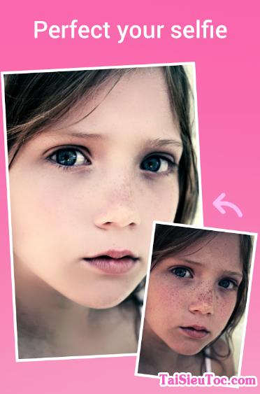 Hình 2 Hướng dẫn tải ứng dụng Beauty Camera cho Android