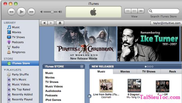 Hình 2 Tải phần mềm chép ảnh, nhạc iTunes cho máy tính Mac