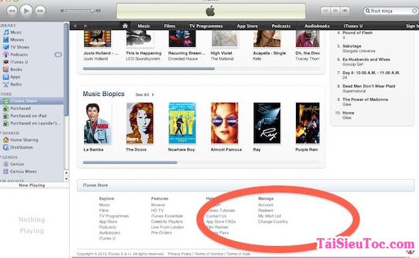 Hình 3 Tải phần mềm chép ảnh, nhạc iTunes cho máy tính Mac