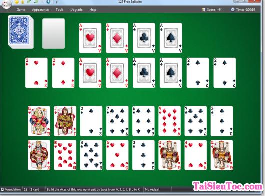 Hình 2 Hướng dẫn tải game xếp bài 123 Free Solitaire cho Windows