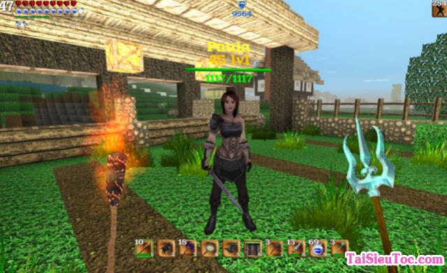 Giới thiệu 7 loại trò chơi giống Minecraft cho Android và iOS + Hình 4