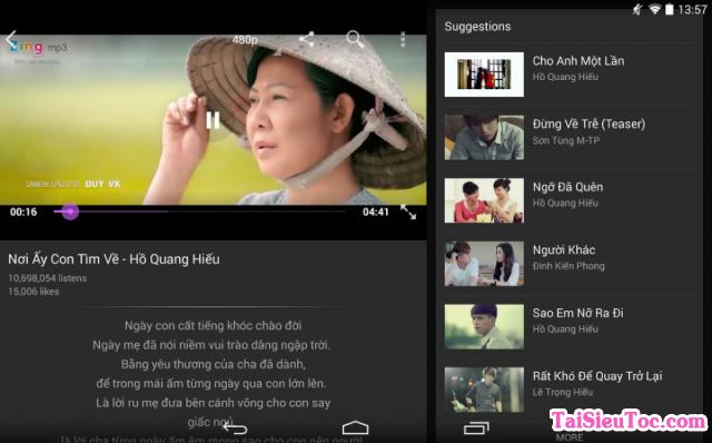 Tải phần mềm nghe nhạc Zing Mp3 cho iPhone và iPad + Hình 2