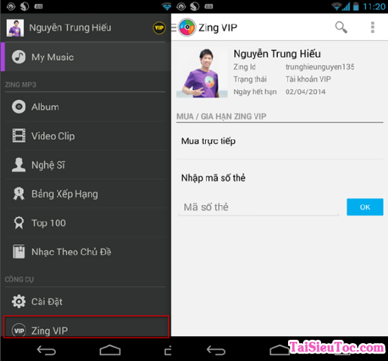 Tải phần mềm nghe nhạc Zing Mp3 cho iPhone và iPad + Hình 4