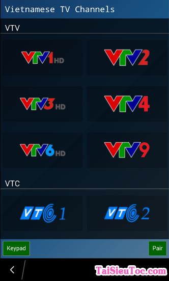 Tải phần mềm xem tivi - vnTV cho Windows Phone + Hình 3