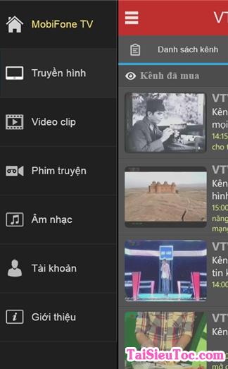 Tải và cài đặt phần mềm MobiFone TV cho Windows Phone + Hình 6