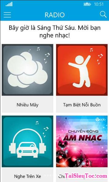 Tải Cha Cha - Phần mềm nghe nhạc cho Windows Phone + Hình 2