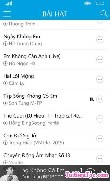 Tải Cha Cha - Phần mềm nghe nhạc cho Windows Phone + Hình 3