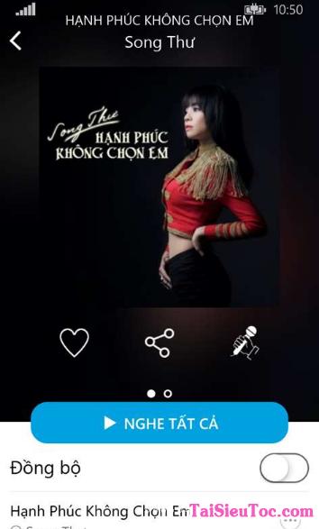 Tải Cha Cha - Phần mềm nghe nhạc cho Windows Phone + Hình 6