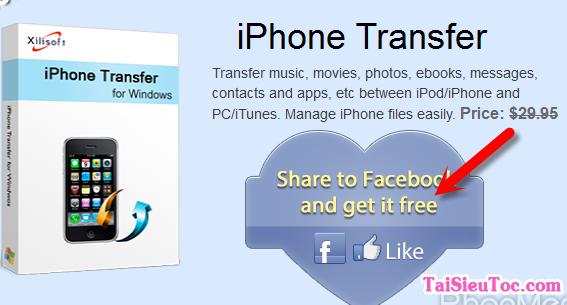 Hướng dẫn tải Xilisoft iPhone Transfer cho Windows + Hình 2
