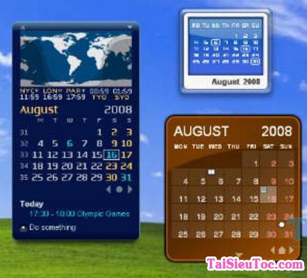 Tải phần mềm thiết kế lịch Rainlendar Lite cho Windows + Hình 4