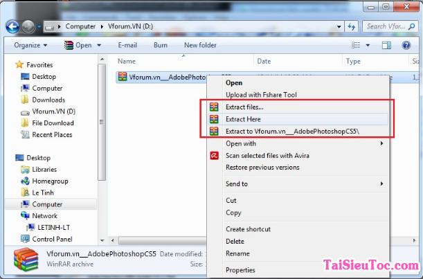 Hướng dẫn tải 7 Zip - Phần mềm Nén/Giải nén file cho Windows + Hình 2