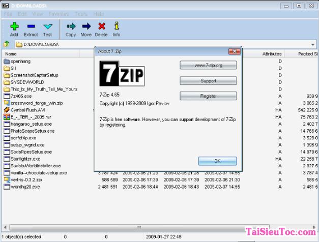 Hướng dẫn tải 7 Zip - Phần mềm Nén/Giải nén file cho Windows + Hình 4