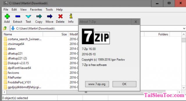 Hướng dẫn tải 7 Zip - Phần mềm Nén/Giải nén file cho Windows + Hình 5