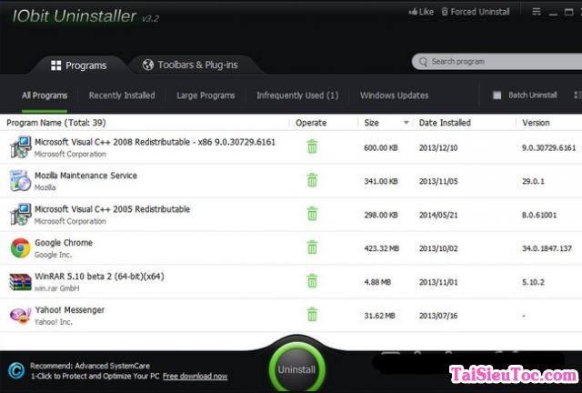 Tải IObit Uninstaller - Phần mềm gỡ cài đặt cho Windows + Hình 4