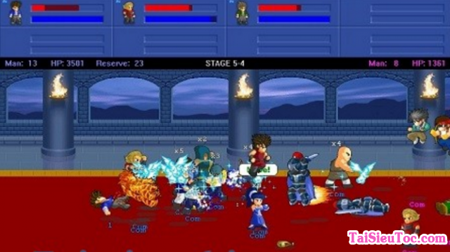 Tải game hành động Little Fighter 2.0a cho Windows + Hình 2