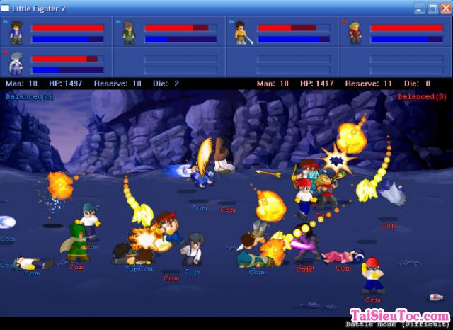 Tải game hành động Little Fighter 2.0a cho Windows + Hình 4