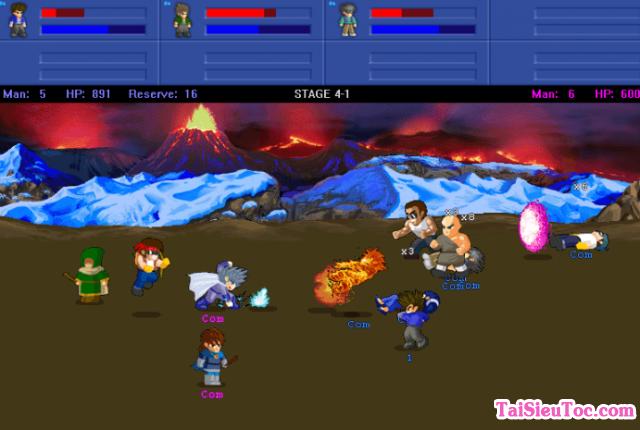 Tải game hành động Little Fighter 2.0a cho Windows + Hình 6