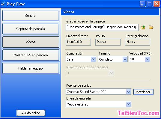 Tải và cài đặt PlayClaw - Phần mềm quay lại video khi chơi game + Hình 2
