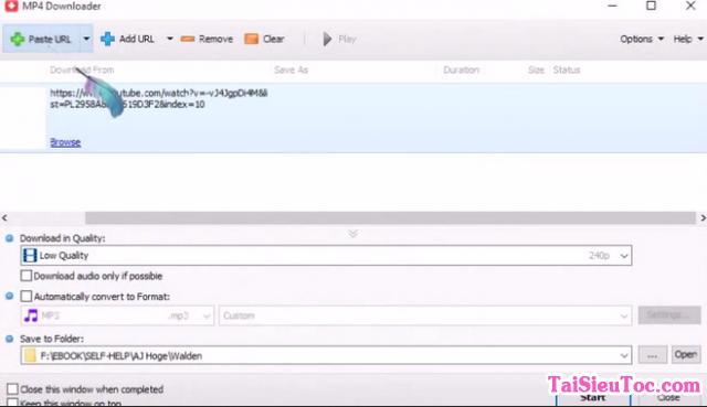 Hướng dẫn tải và cài đặt MP4 Downloader cho Windows + Hình 4