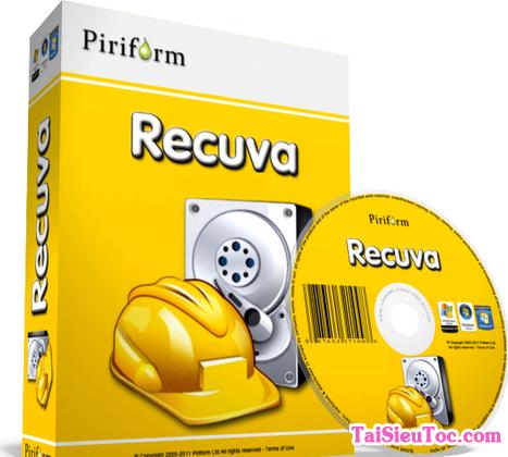 Tải cài đặt Recuva - Ứng dụng khôi phục dữ liệu bị mất trên windows + Hình 1