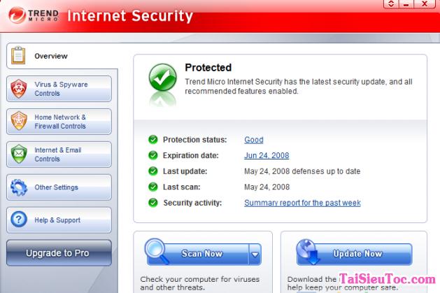 Hướng dẫn tải và cài đặt Trend Micro Virus Pattern File cho Windows + Hình 2