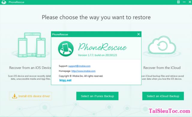 Tải PhoneRescue - Trình khôi phục dữ liệu bị mất của iPhone, iPad + Hình 3