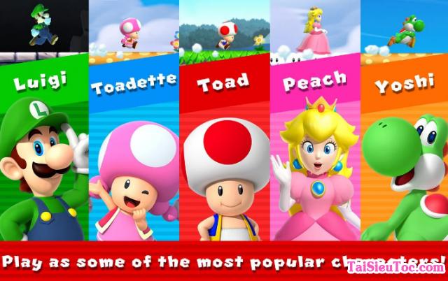 Tải Game Super Mario Run cho điện thoại Android + Hình 5