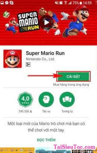 Tải Game Super Mario Run cho điện thoại Android + Hình 9