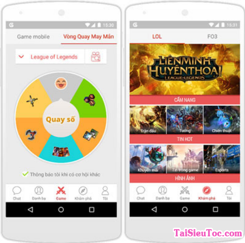 Giới thiệu và Hướng dẫn tải cài đặt Garena cho điện thoại Android + Hình 4