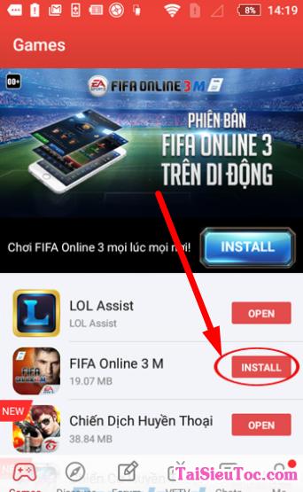 Giới thiệu và Hướng dẫn tải cài đặt Garena cho điện thoại Android + Hình 12