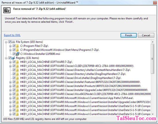 Sử dụng Uninstall Tool để xóa bỏ các ứng dụng ra khỏi máy tính + Hình 3